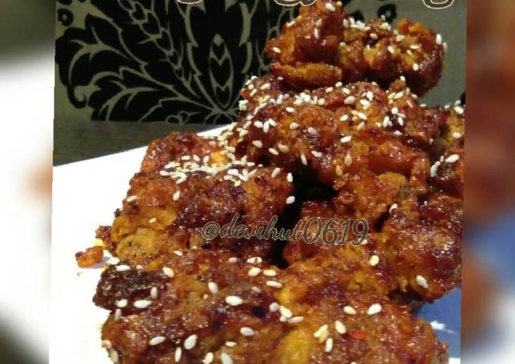 Ayam Goreng Hot n Crispy ala Korea