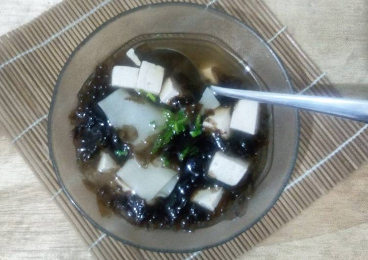Resep Miso Soup + Pangsit Sempurna