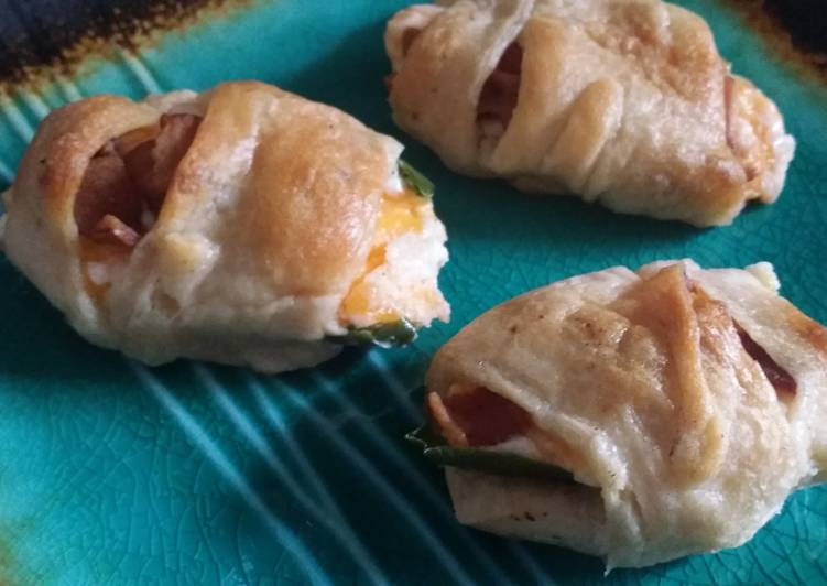 Simple Way to  Stuffed jalapeño roll-ups