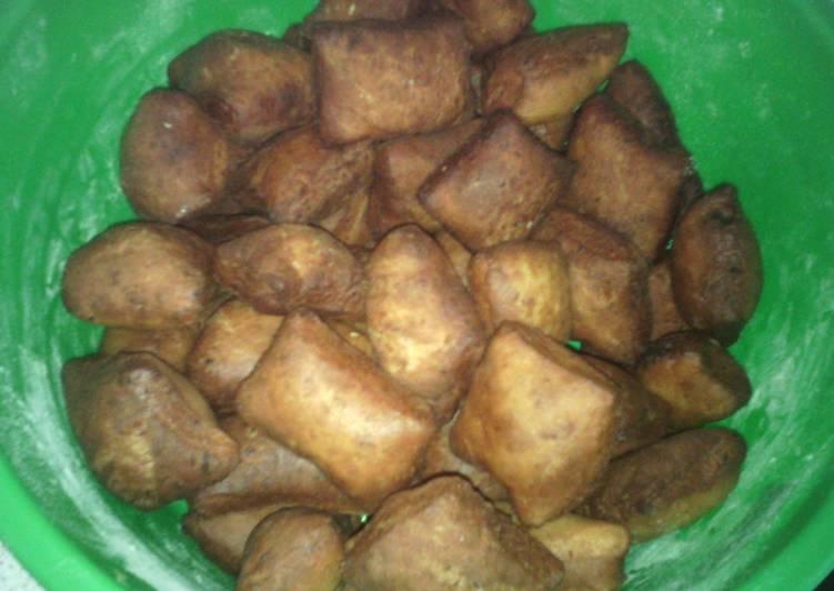Butternut mandazi (swahili donuts)