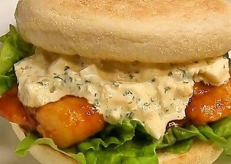 Shrimp Chili Sauce Sandwich
