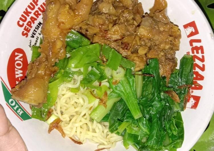 Mie Ayam (Resep 2)