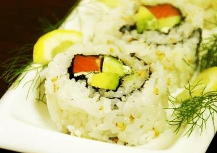 Salmon & Dill California Roll