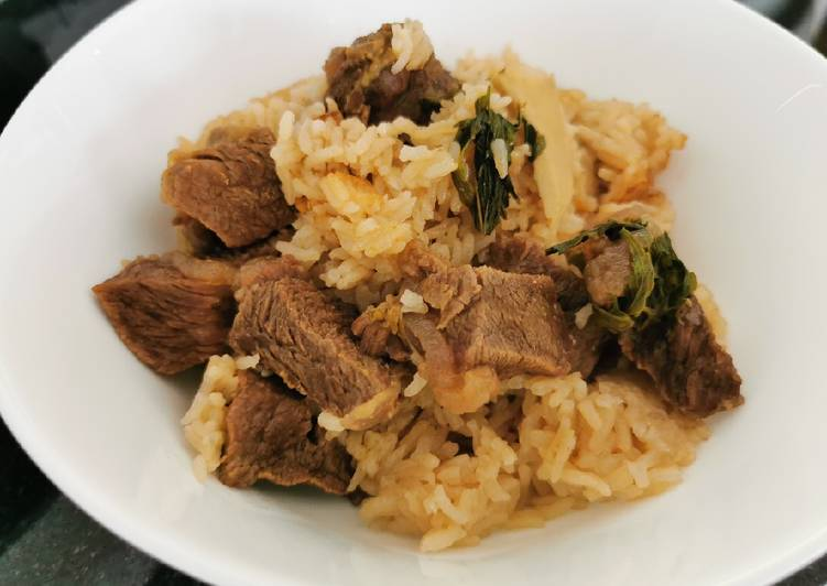 Stewed beef rice (revised)
