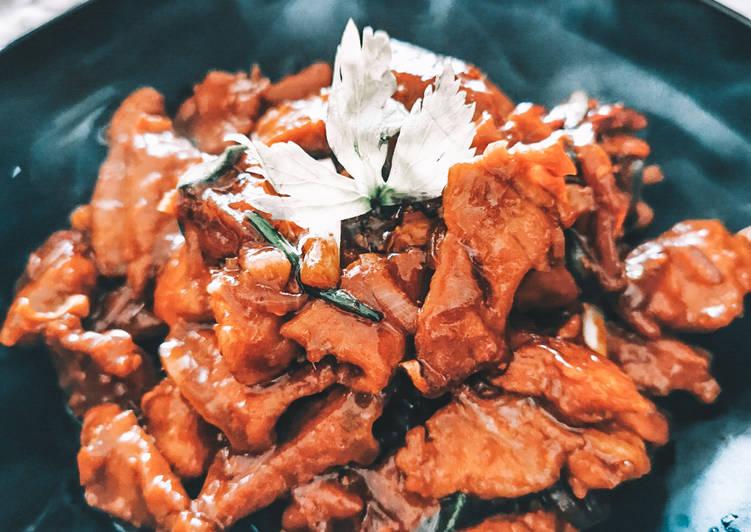 🇨🇳 Mongolian Beef