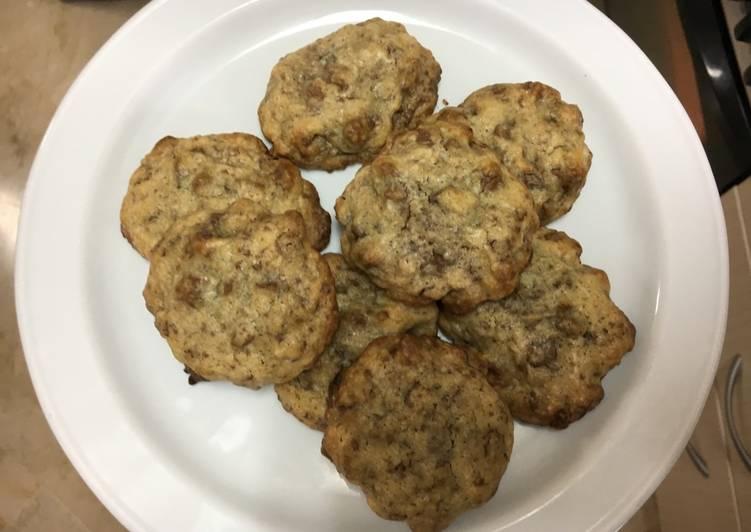 Cookies crujientes y blanditas por dentro