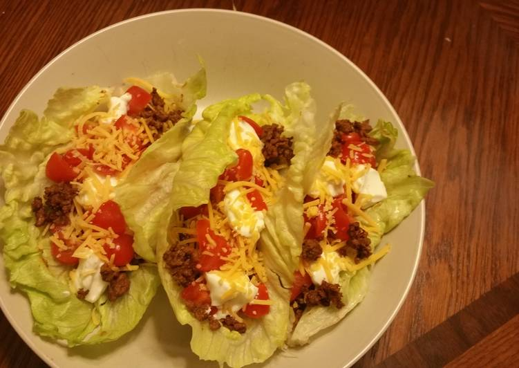 Recipe of Top-Rated Lettuce Leaf Taco Wraps