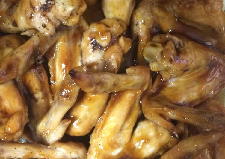 Recipe: Perfect Honey Teriyaki Chicken Wings