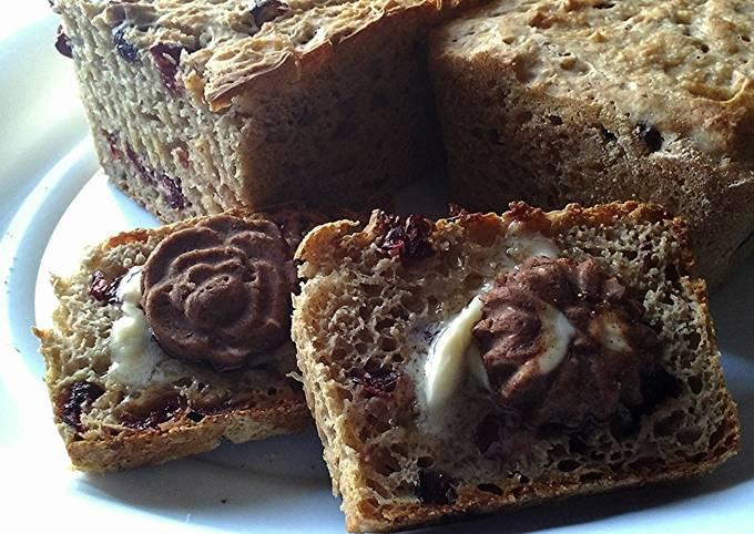 Cinnamon Raisin English Muffin Bread / Easy!!!