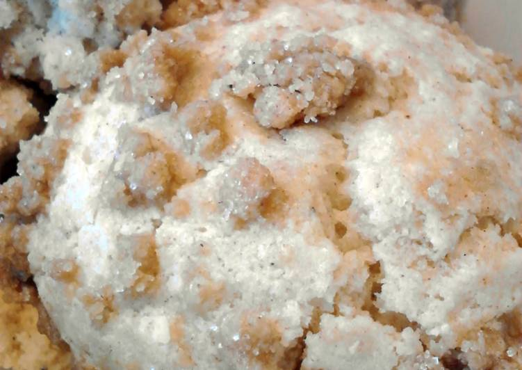 Eggnog Coffee Cake Muffins #1