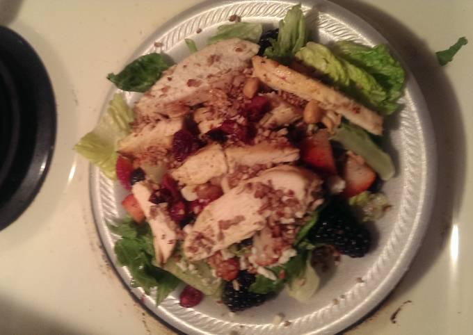 Three Barry grilled chicken salad