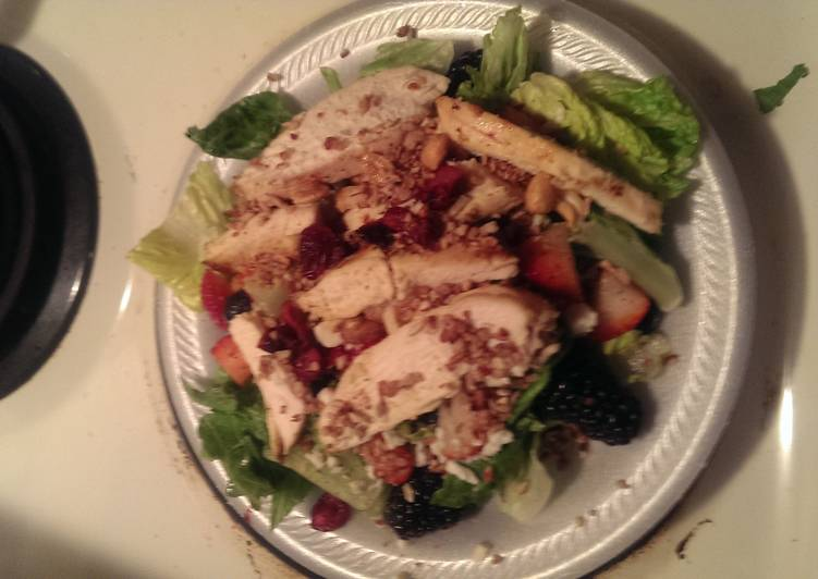 Three Barry grilled chicken salad