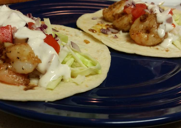 Recipe of Delicious Shrimp Tacos