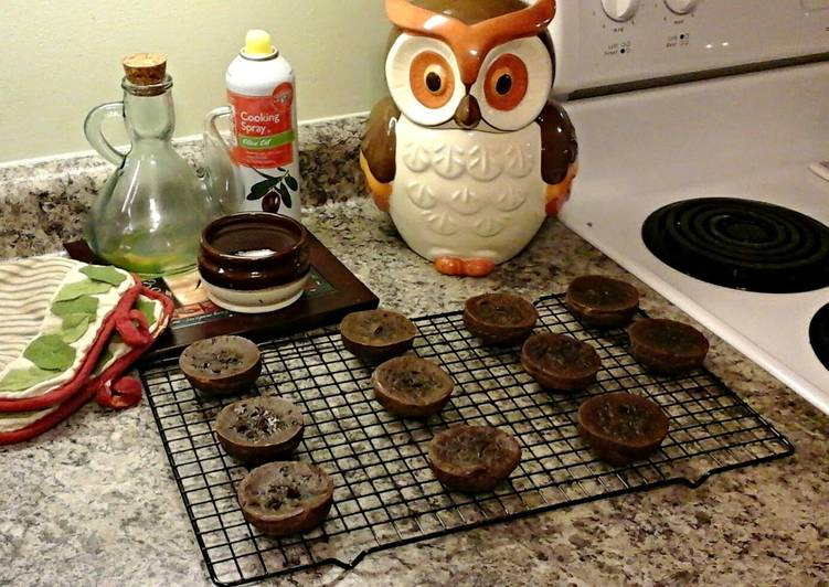 Recipe of Super Quick Homemade Chocolate Pudding Brownie Bites