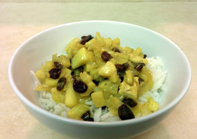 Quick and Easy Recipe: Tasty Skinny Curry Chicken