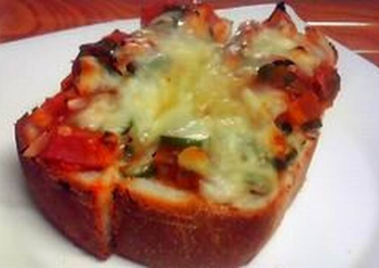 Recipe: Delicious My Husband's Favorite Pizza Toast