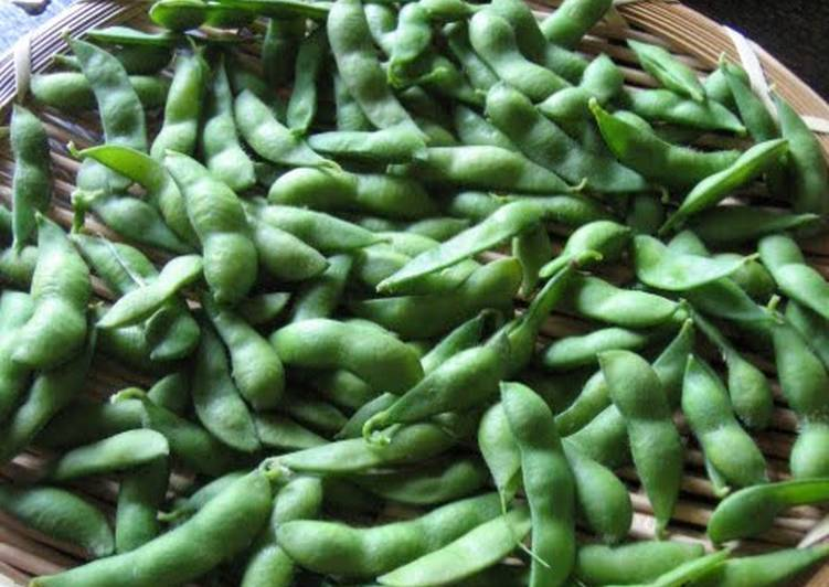 Simple! Delicious! How to Boil Edamame
