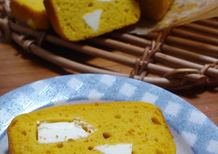 Pound Cake with Kabocha and Cream Cheese
