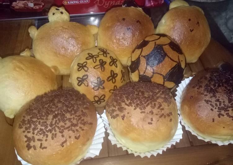 Roti Manis ala Ayoe Widya