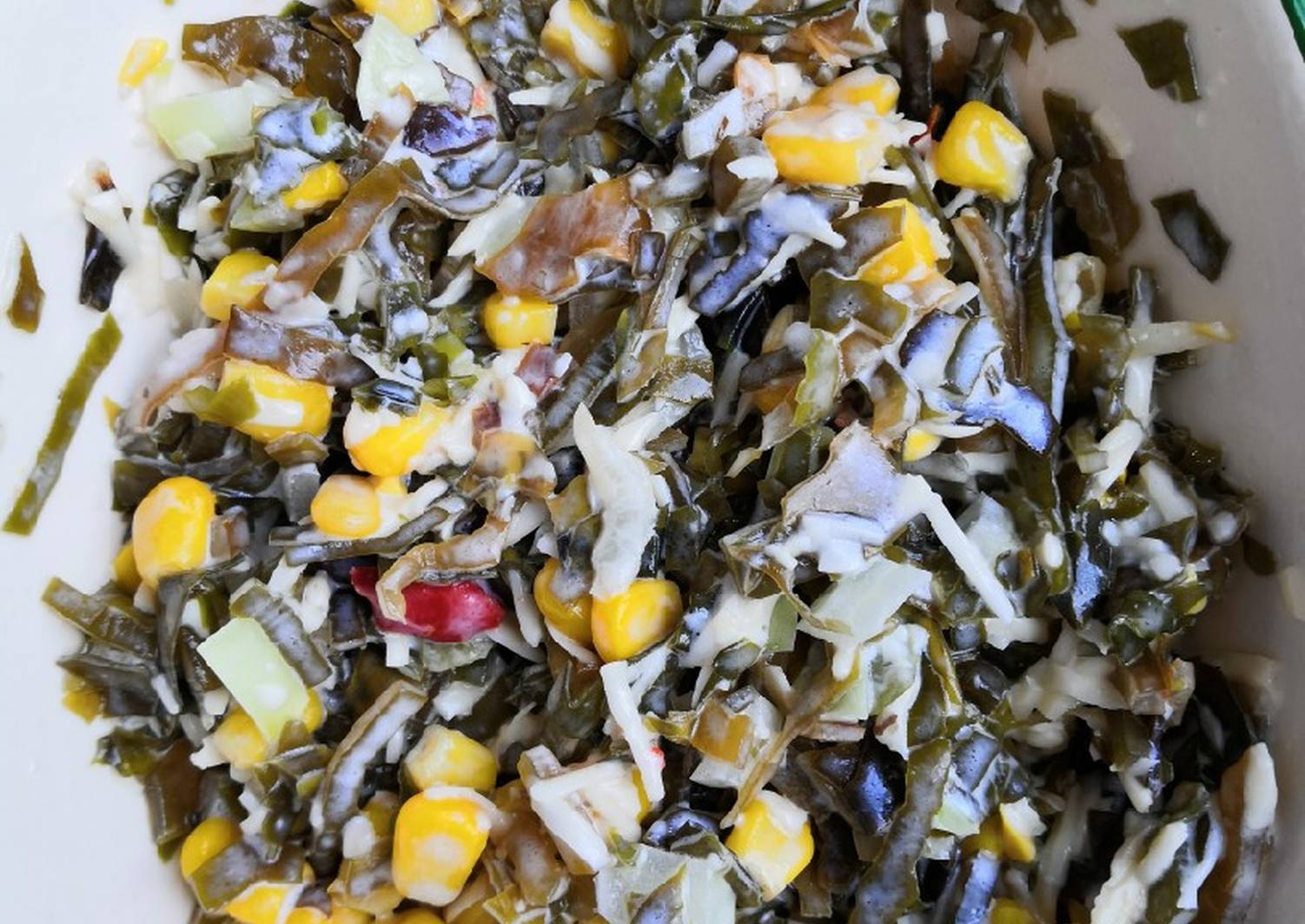 Салат из морской капусты рецепт с фото
