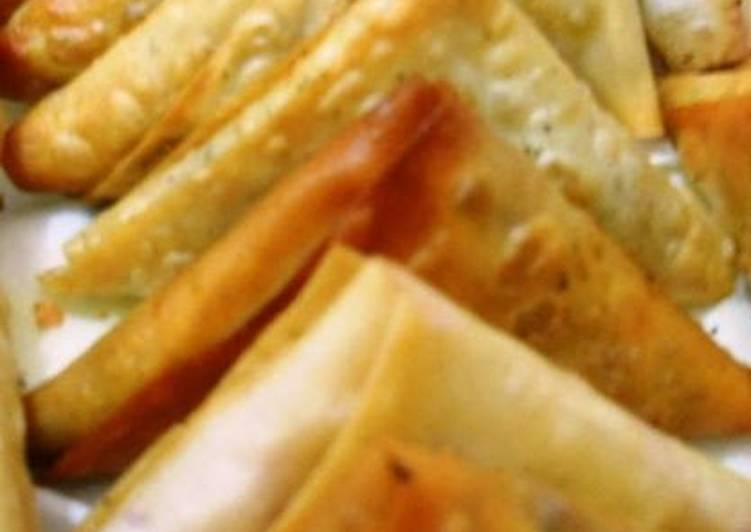 Recipe: Comfortable Chicken samosa