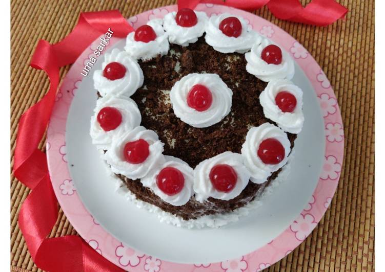 Recipe of Award-winning Black forest ice cream cake