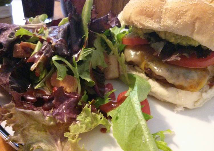 Awesome Beef & Pork Burgers