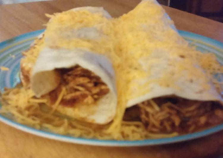 Recipe: Tasty E-Z Crock Pot Chicken Tacos