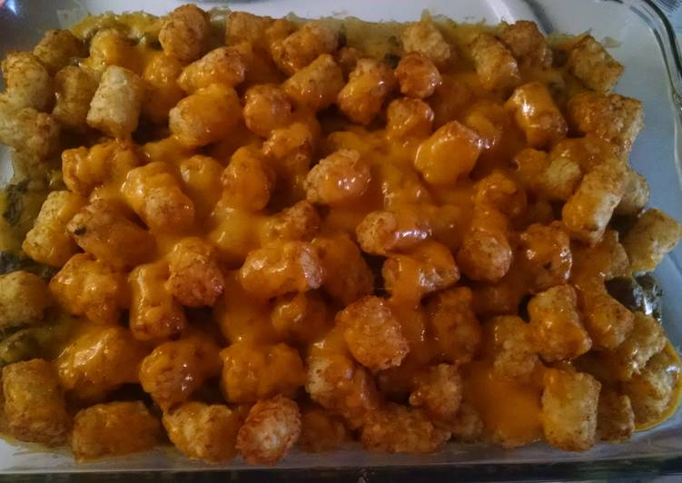 Step-by-Step Guide to Prepare Favorite Tater Tot Casserole