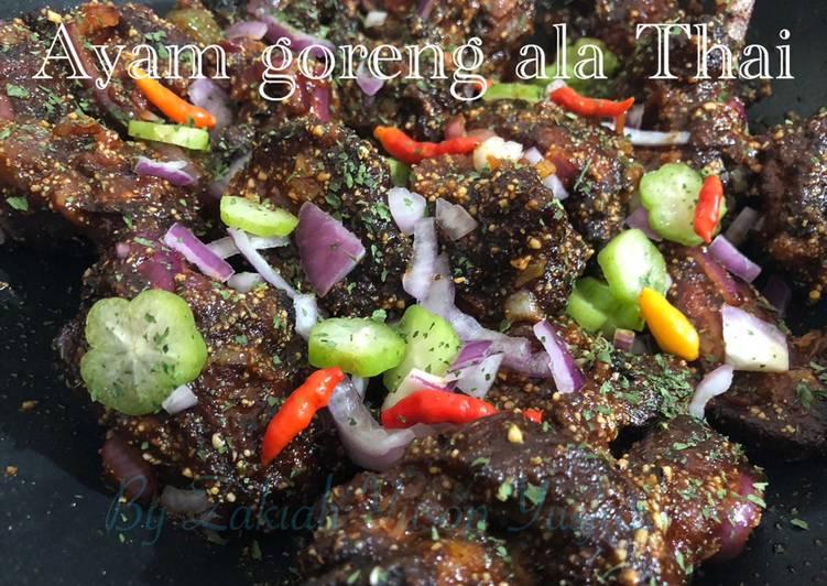 Ayam goreng ala Thai