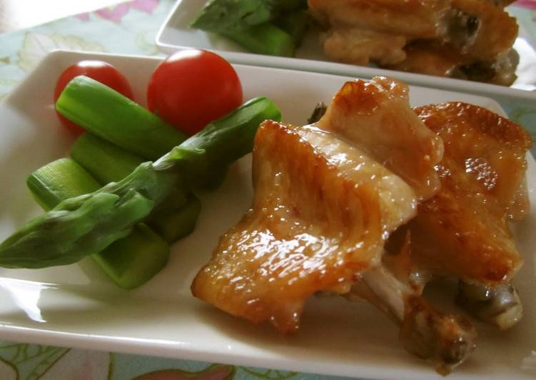 Thai-Style Yakitori Chicken Wings Gai Yang