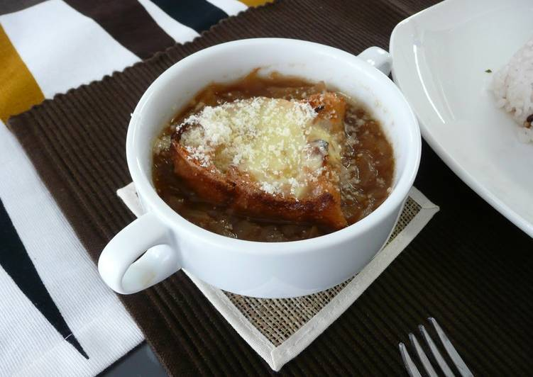 Simple Way to Make Most Popular Onion Gratin Soup
