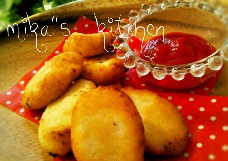 Steps to Prepare Perfect Healthy Okara Nuggets