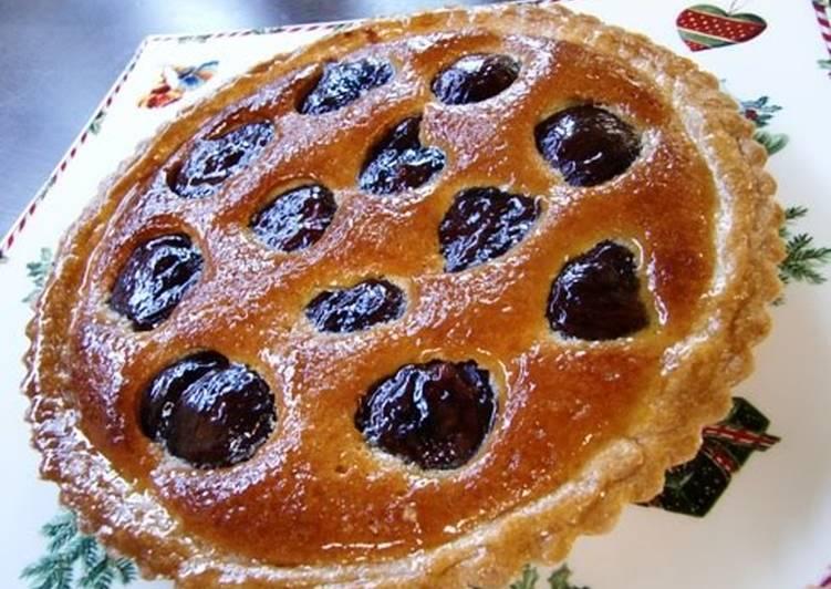 How to Make Homemade Simmered Chestnut Tart