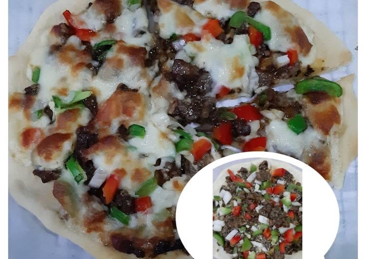Pizza Dough Favorite Topping Suka2😆