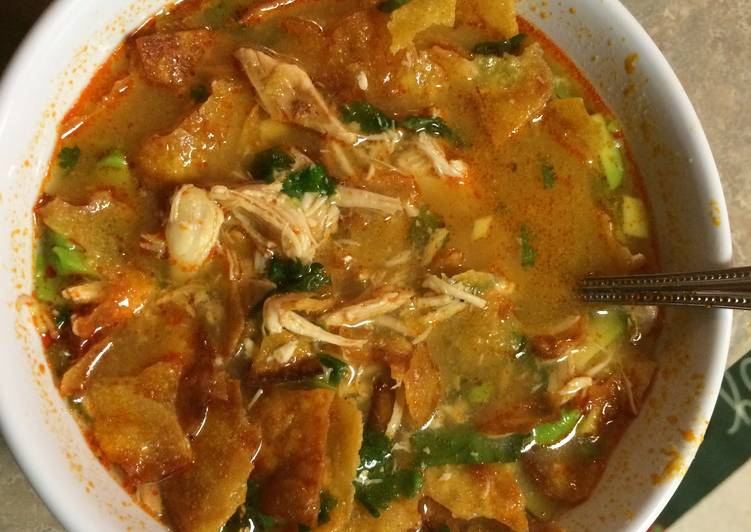 Chicken Tortilla Soup, Choosing Fast Food That's Fine For You