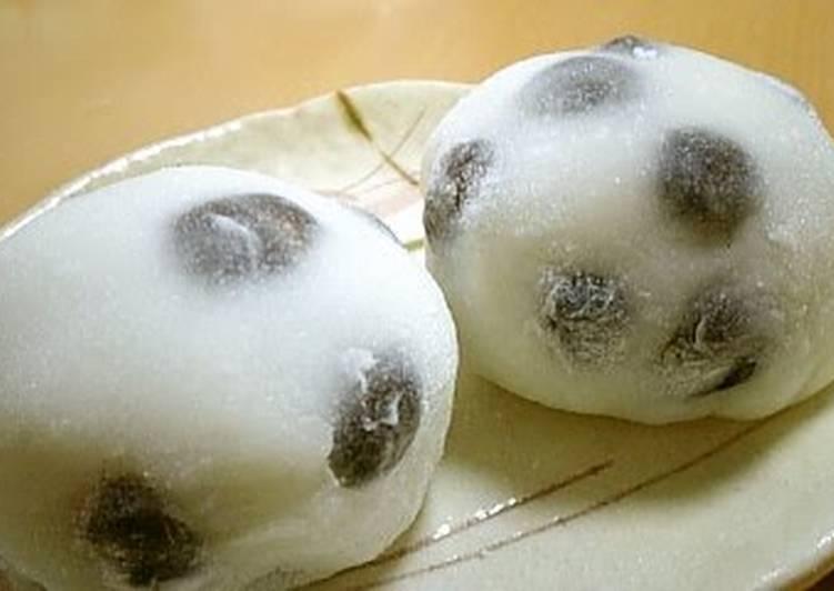 Easiest Way to Make Super Quick Homemade Shio-Daifuku (Salt and Bean Mochi Dumplings)
