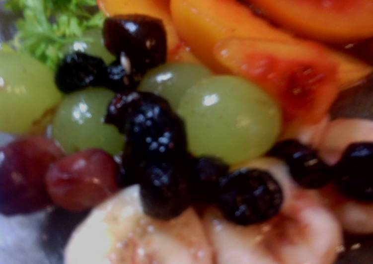 sunshines summer cool fruit salad