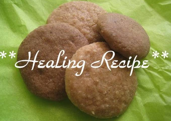 ● Macrobiotic Crunchy Easy Cookies ●