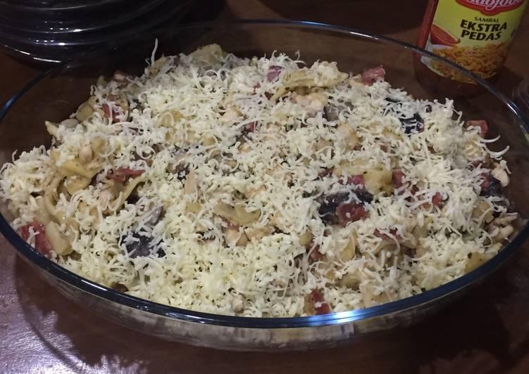 Resep Fettucini Carbonara Homemade Oleh Hastyo Tyanto Cookpad