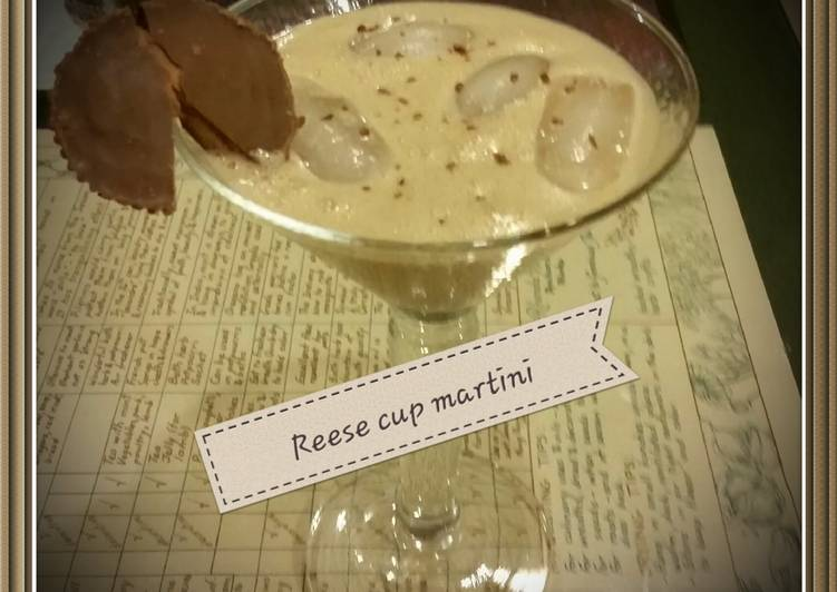Reese peanutbutter cup martini