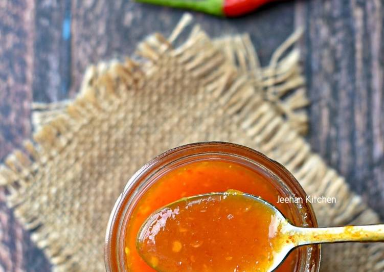 Sweet Chili Sauce Ala Thai