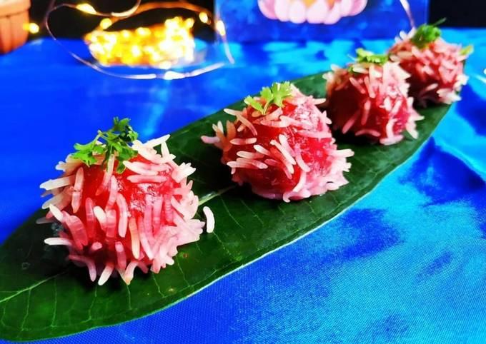 Beetroot Rice Flower