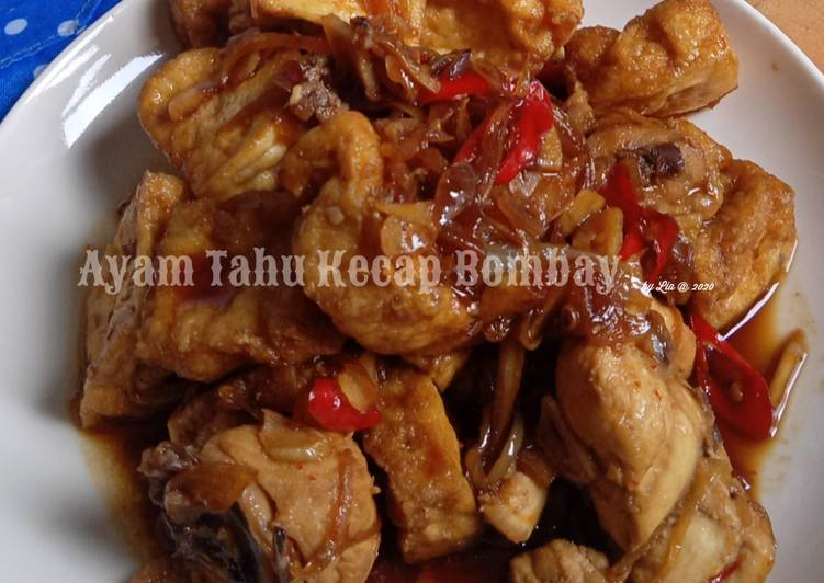 Ayam Tahu Kecap Bombay - cookandrecipe.com