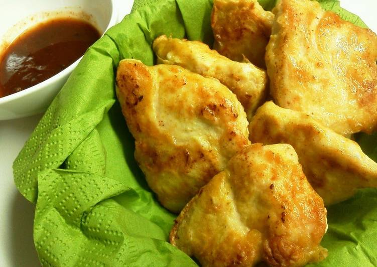 Recipe of Top-Rated Juicy Chicken Nuggets Made with Chicken Breast