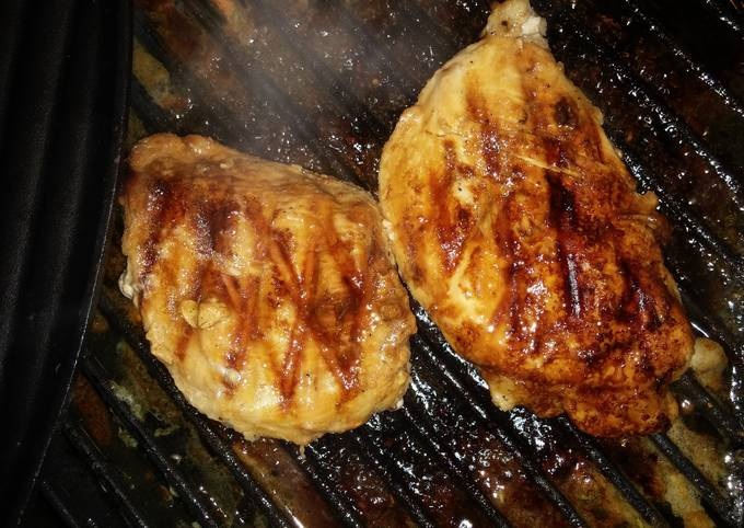 Grill Chicken Breast White Wine Lime Marinated