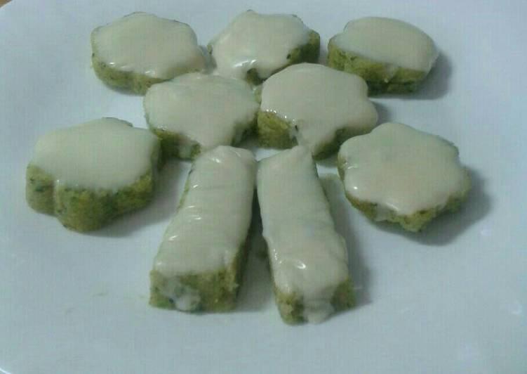 Polenta con spinaci e formaggio fuso