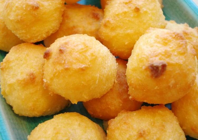 Healthy Recipe: Delicious Healthy with Okara! Light and Fluffy Cheese Snacks