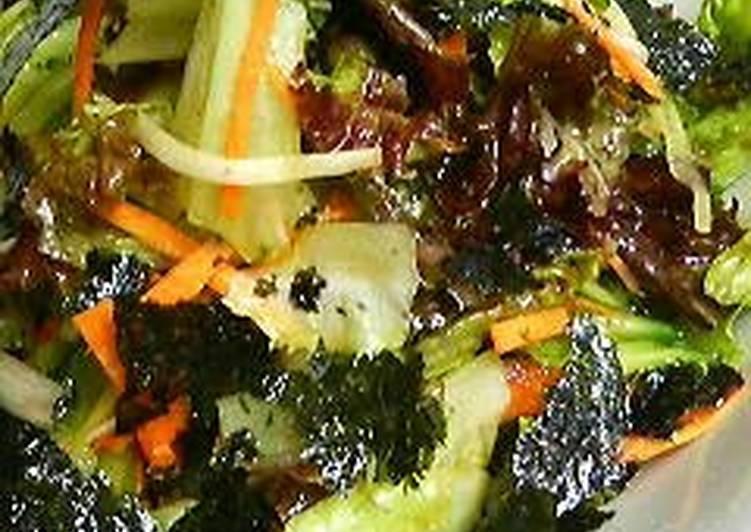 Recipe of Homemade Irresistible Korean-Style Salad