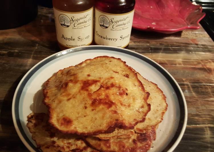 Paleo (banana & Egg) Pancakes